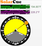 Dual Thermocouple temperature reading (oven/probe temps), Dynamic solar Azimuth tracking to the current Lat/Long/Time